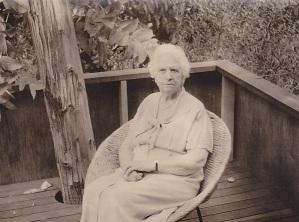 Aunt Liz 1963 or 64