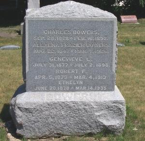 Bowers' Family Headstone
