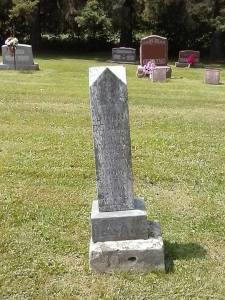 John Desens Tombstone