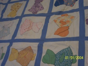 Quilt made by Eva
