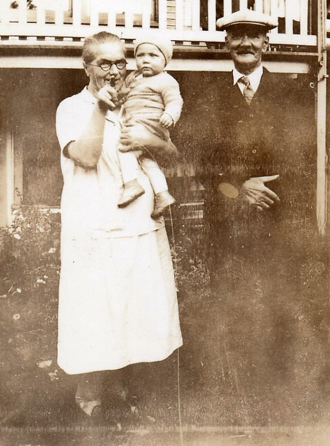 Wilhelmina and Rudolph Kaiser 1931