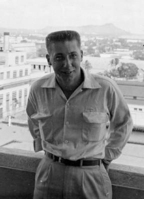 Uncle Russ in Hawaii Nov 1954