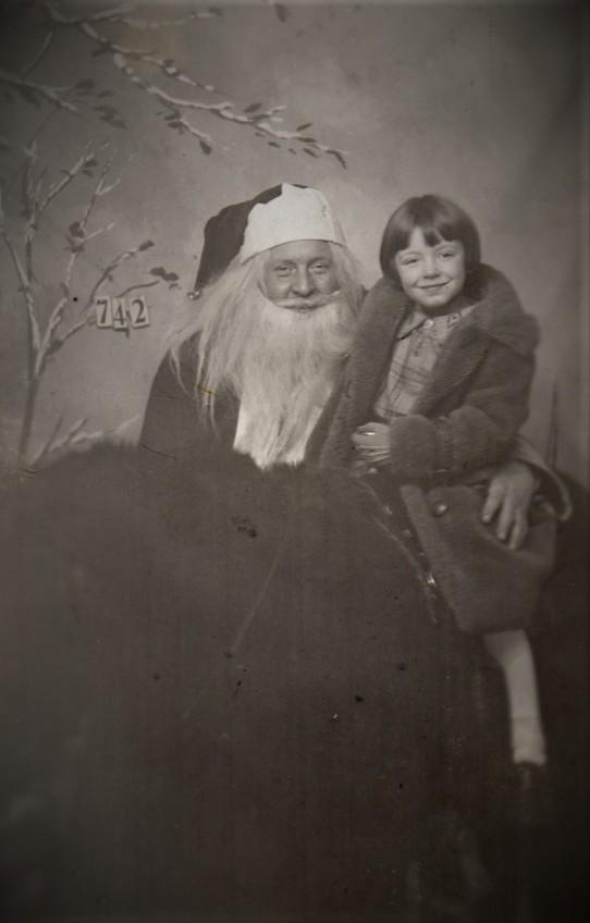 Dorothy and Santa